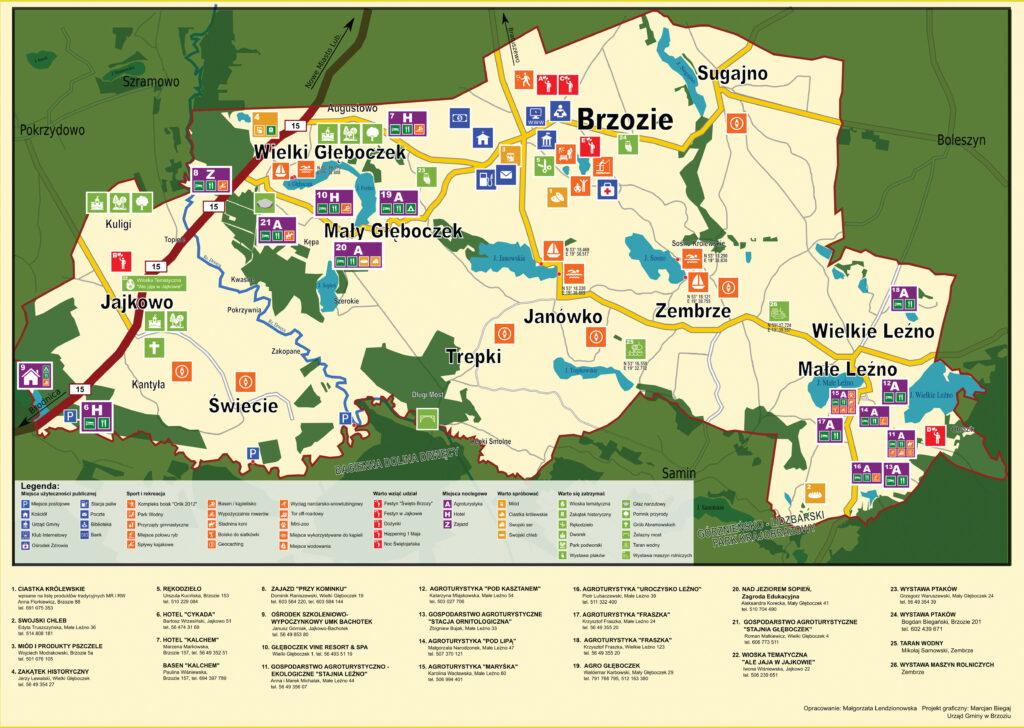 Mapka turystyczna - STR-1-A3