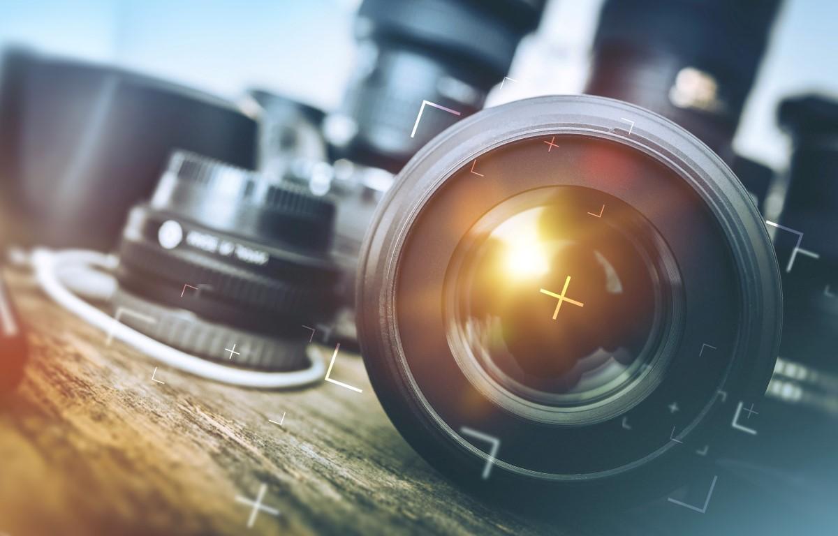 aparat fotograficzny, foto, obiektywy, zdjęcie,