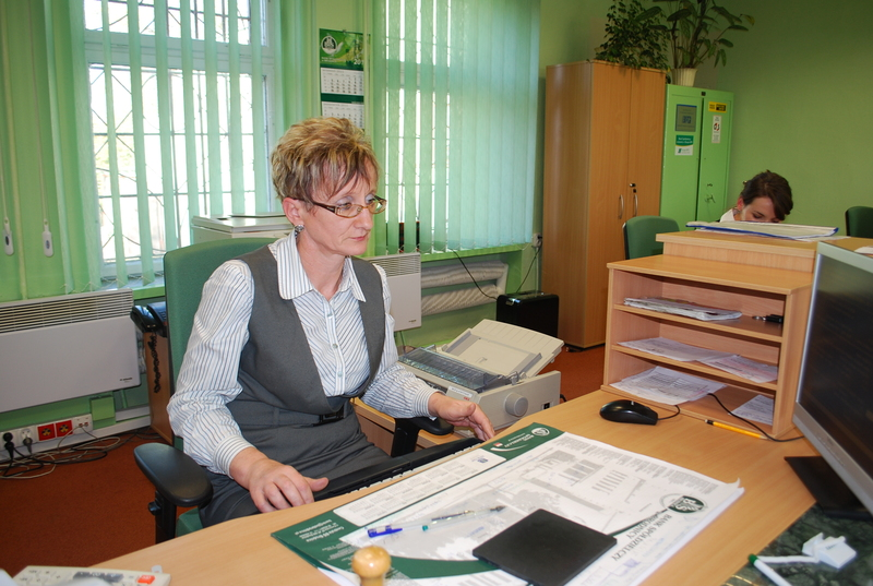 Bank Spółdzielczy - oddział w Brzoziu