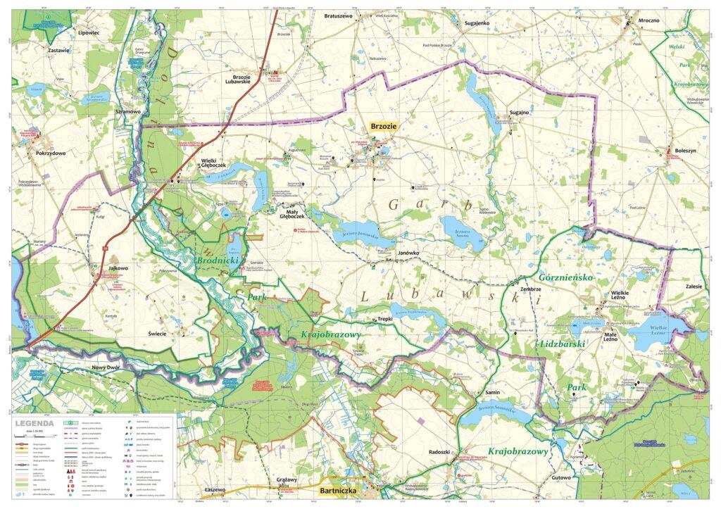 Mapa turystyczna v.2 - strona 1 - kliknij aby powiększyć