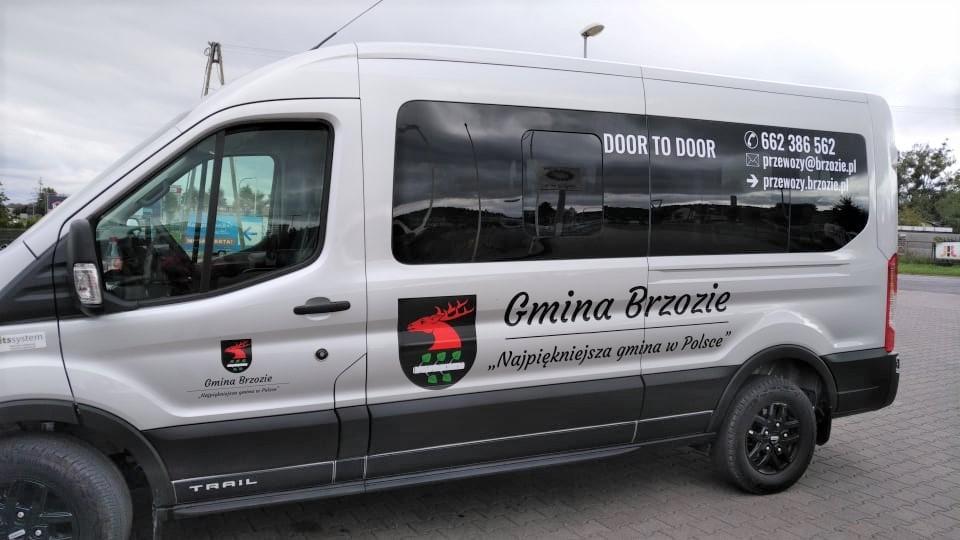 Samochód do przewozów door-to-door - Ford Transit Trail - Gmina Brzozie -- 2